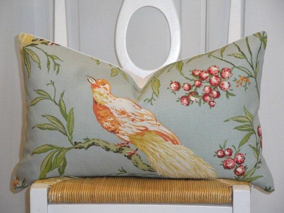 Decorative Pillow Cover Duralee Bird Throw Pillow
