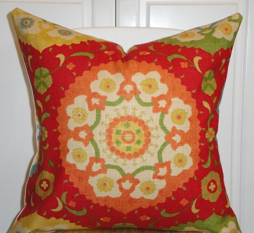 20 Inch Throw Pillow Covers : Decorative Pillow Cover 20 x 20 Inch by TurquoiseTumbleweed