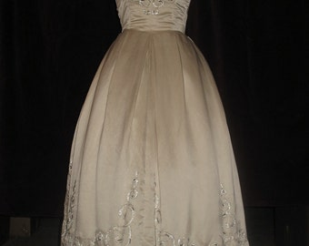Rare Rosalie Macrini Vintage Wedding Dress Small