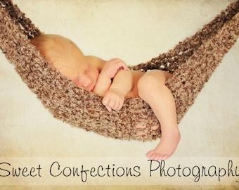 New  Mini Hammock Photo Prop Crochet Pattern