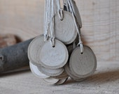 15 Wood Tags ... Natural Linden Wood Gift Tags  ... Lovely for gift, for wedding ...