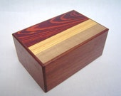 Japanese Puzzle box (Himitsu bako)- 6inch(150mm) Open by 7steps- Pure Walnut Woods