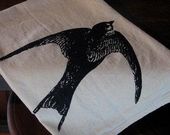 Bird In Flight Flour Sack Towel