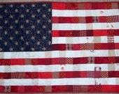 Custom Order for Felicia - American Flag Qulit