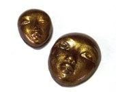 Polymer Clay Face Cabochon Set