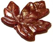 Leaf Polymer Clay Pendant