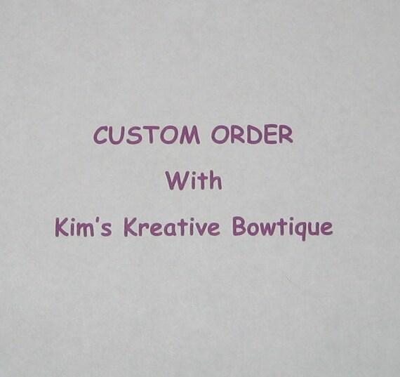 Custom Order for Jaylene Bundonis(jayleneorange) - RESERVED
