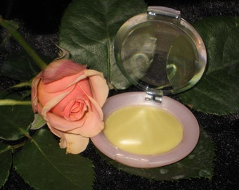 Rose Solid Perfume - All Natural Rose Floral Wax - Amazing