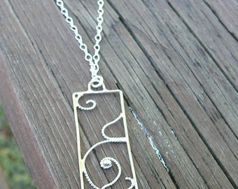 Curls of Love...A Pregnancy Necklace.