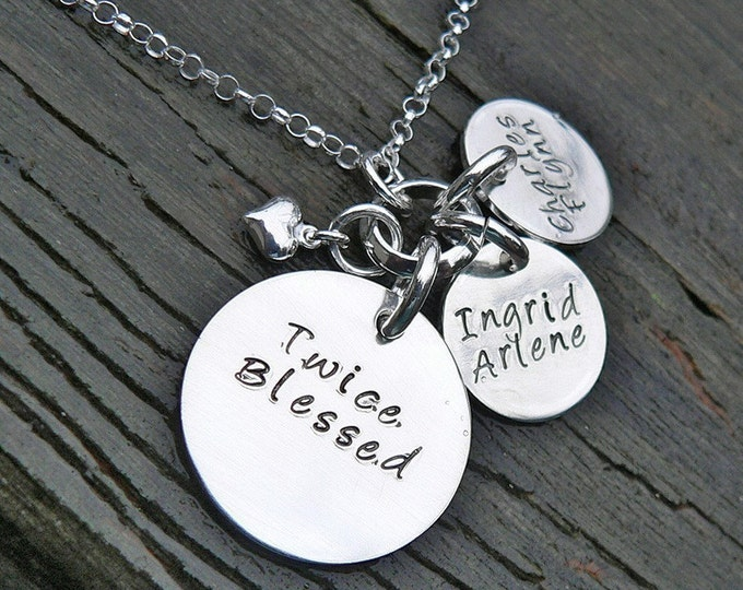 Twice Blessed...a mother's necklace