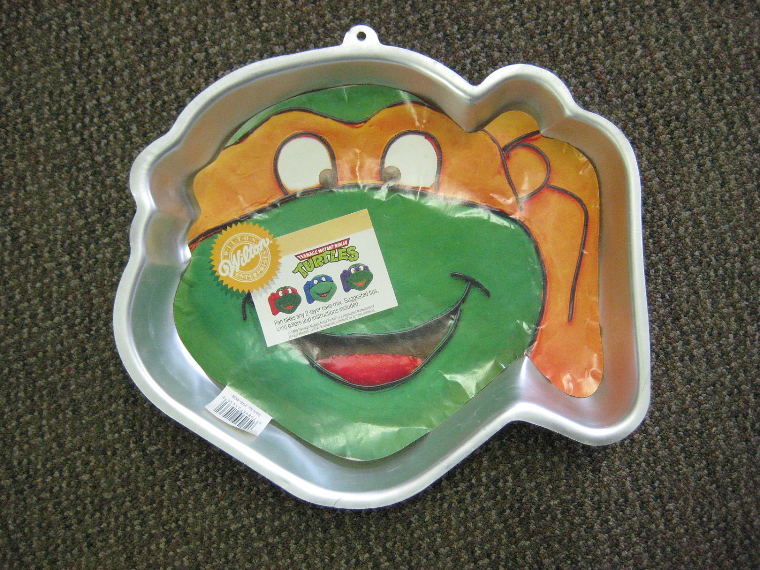 teenage mutant ninja turtle cake pans