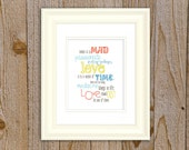 Mad Passionate LOVE  Art print, Quotable Quotes by gelDesign