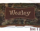 Boutique Personalized Baby Boy Camo Print Camouflage Baby Wipes Case