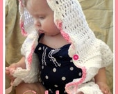 PATTERN Baby Beach Cover-Up - PDF Crochet Pattern