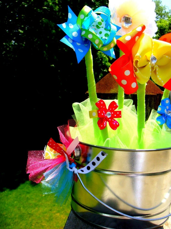 Super Sweet HAIR BOW BOUQUET...Perfect for showers, new moms, birthdays