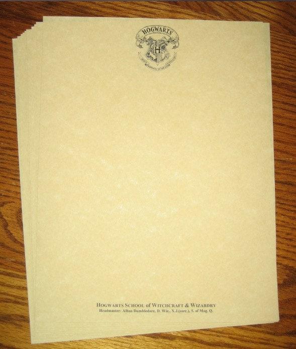Hogwarts Stationery