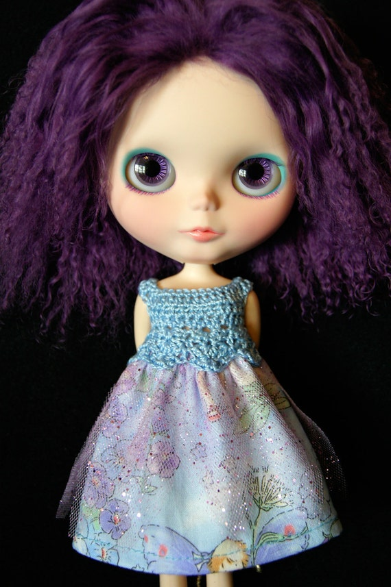 Blythe Rag Bag Designs OOAK Faery Dress