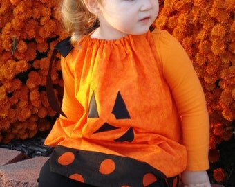 The Great Pumpkin Pillowcase Dress Girls' Sizes 1T  to 8
