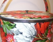 Vintage Sewing Box Floral