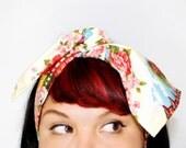 Retro hair tie Vintage Rose