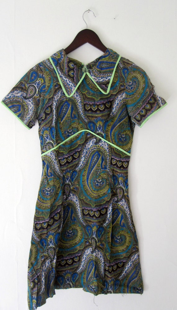 Paisley Dress - Small