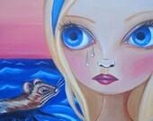 """ART PRINT """"Pool of Tears"""" by Jaz Higgins"""