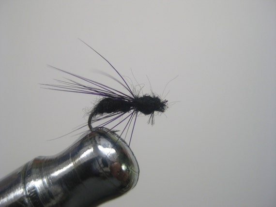 Black ant fly; for trout and bluegill