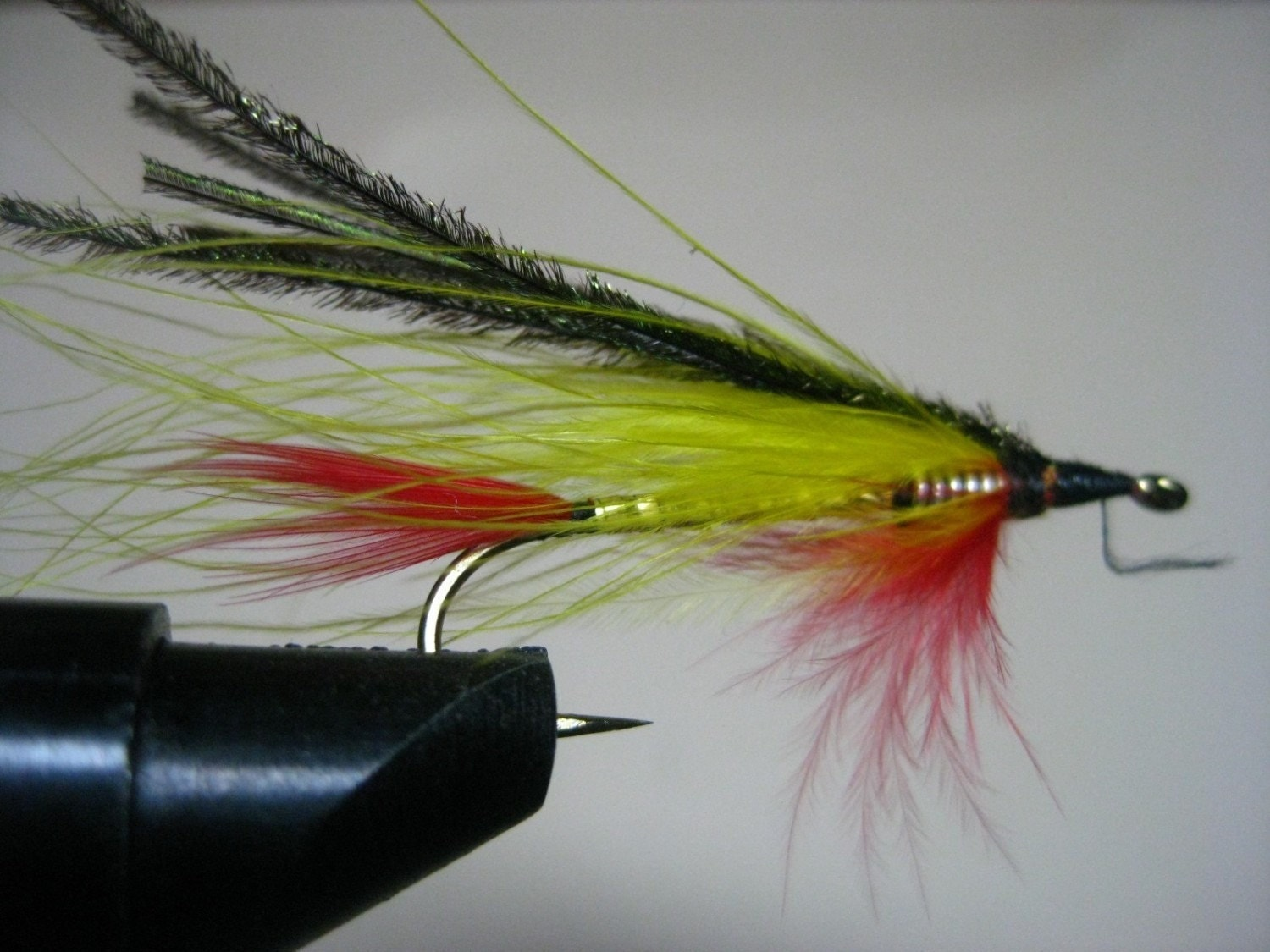 Streamer fly fishing lure handmade marabou feathers by ...