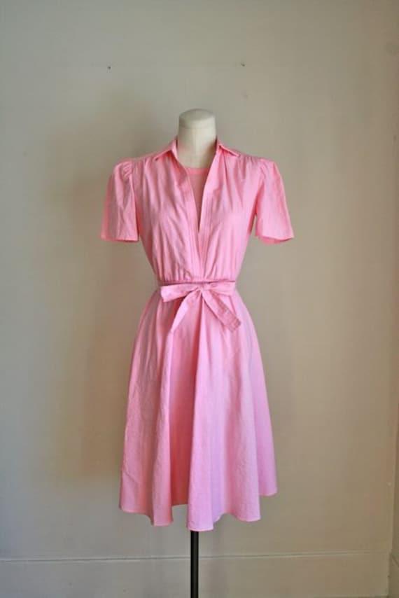 Pink Waitress Uniform 35