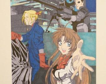 Anime Compilation Marker Rendering
