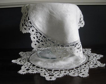 Antique Hand Crocheted Doilies