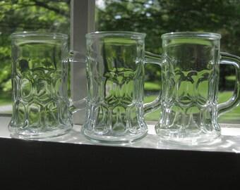 Trio of French Shot Glasses
