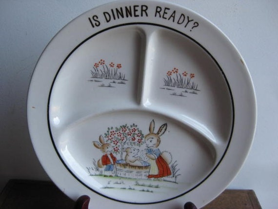 Adorable Child's Grill Plate - 1930's