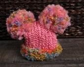 Awesomely Cute Pink Pom Pom Hat...Newborn