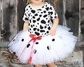 Custom Boutique 101 Dalmatian inspired tutu set  Halloween costume, Birthday parties, Pagents, Photo shoot