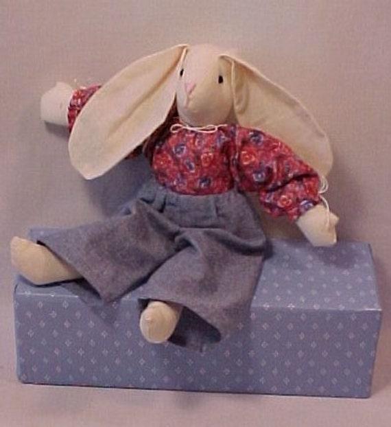 Handcrafted Boy Bunny