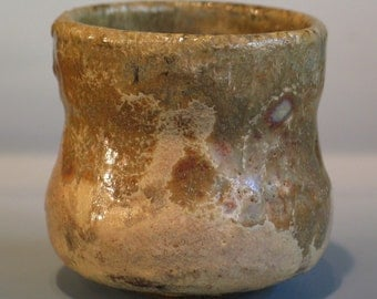 Wood Fired Japanese Style Tea Cup, Yunomi, Light Earth Tones George Watson