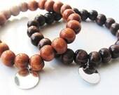 Wooden Bead Bracelets