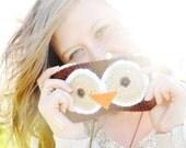 Owl Coin Purse- Crochet