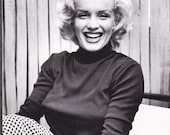 Marilyn Monroe Smile - Blank Card