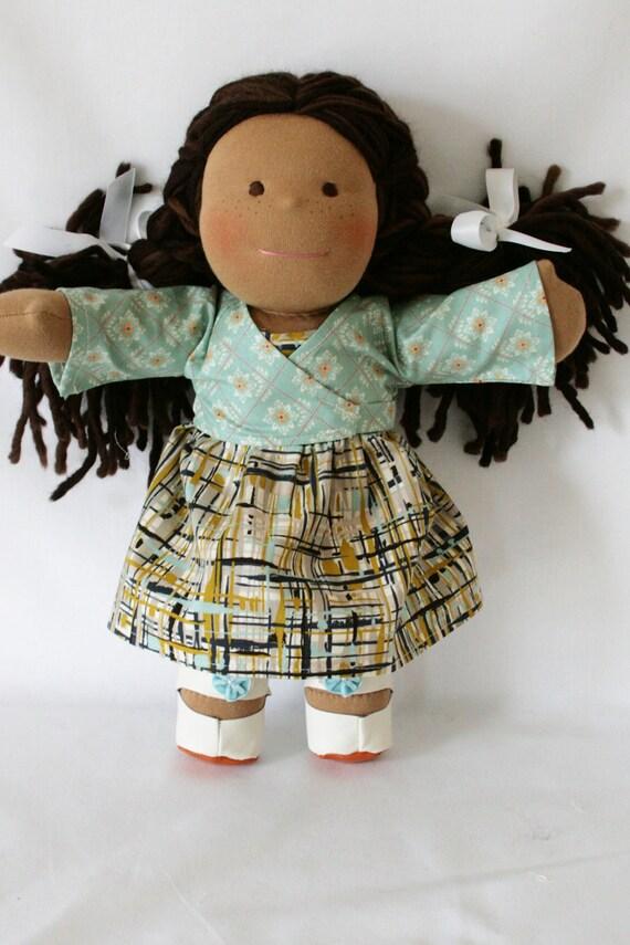 Natalie, a 15 inch Natural Waldorf Doll