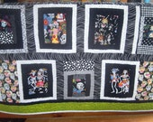 Baby Quilt Day of the Dead Custom Order