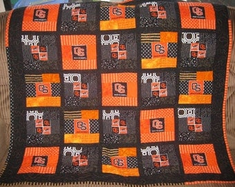 Tailgate Quilt in your Favorite Team Colors  Custom Order Yours Today