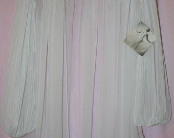 Flora Nikrooz Nighty Robe White Wedding Bridal