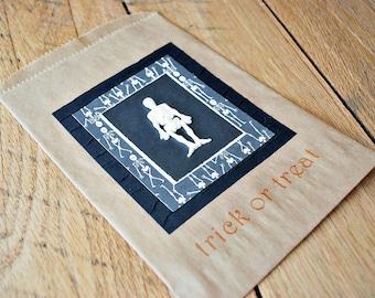 halloween goody bags halloween treat bags skeleton treat bags by oscar & ollie