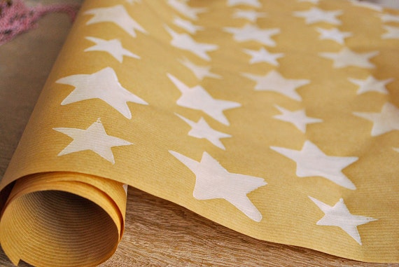 Christmas Wrapping Paper Hand