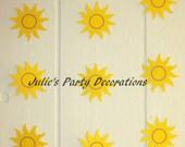 Tangled Birthday Sun Hanging Decorations