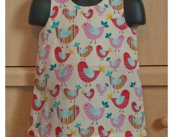 A-Line Birdie Dress 12M