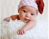 Boutique Newborn Baby Crochet Cap