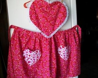 Valentines Day Apron